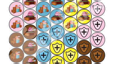 Printable Units & Health Tokens for Blitz: Speed War